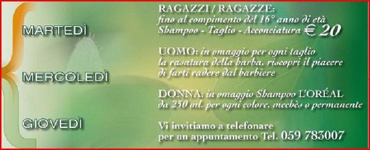 Famoso Idee Promozionali Per Parrucchieri RG72 » Regardsdefemmes XA56