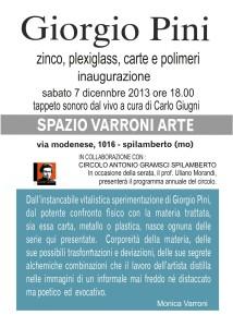 Invito Giorgio Pini Retro