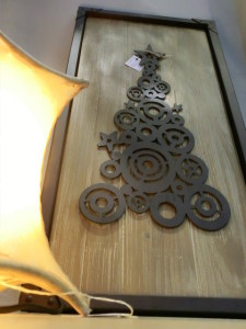 quadro albero di natale El camino del Sol
