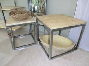 tavolini in stile industriale