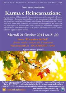 KARMA E REINCARNAZIONE C.S.B. 21-10-14