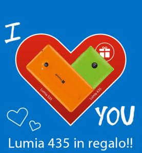 A San Valentino Lumia 435 in Regalo!